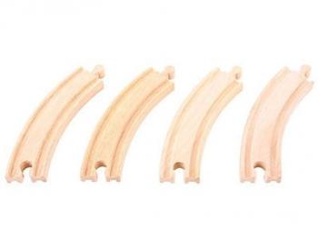 Bigjigs Rail Long Curves each