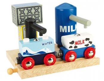 Bigjigs Rail Milk and Water Depot