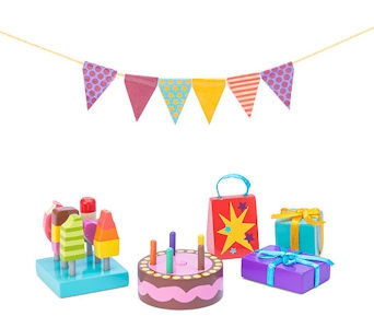 Le Toy Van Party-Time Set