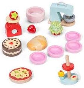 Le Toy Van Make & Bake Accessory Set
