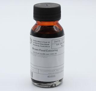 Food Colour Liquid Brown (50 g)