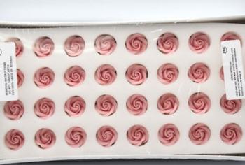 PME Medium Sugar Roses Pink 32mm (32)