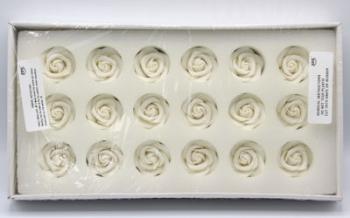 PME Large Sugar Roses White 45mm (18)