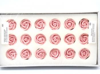 PME Large Sugar Roses Pink 45mm (18)