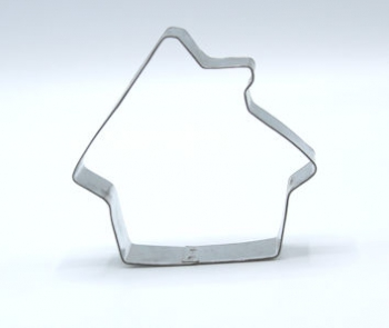 Cookie Cutter Bread Man House (100 mm)