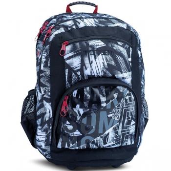Totem School Bags Large Style Noise Black