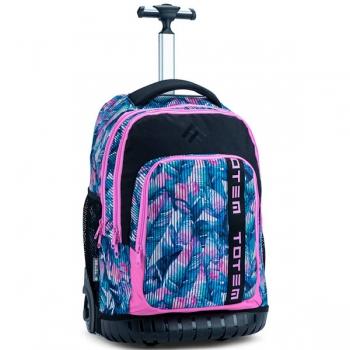 Totem School Bags Trolley Abby Black Pink