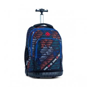 Totem School Bags Trolley Jasper Black