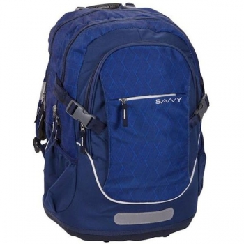 Savvy School Bags Large Liam Navy