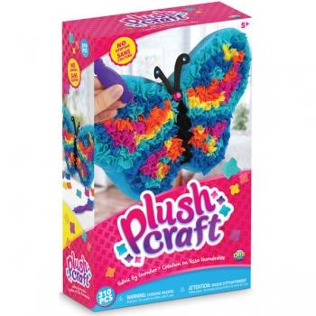 PlushCraft Butterfly Pillow