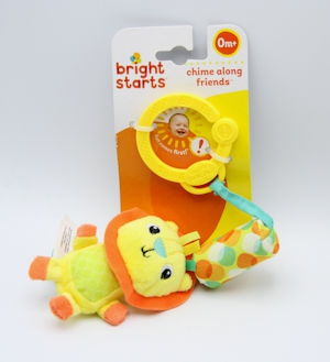 Bright Start Chime Along Friends Lion/Hippo