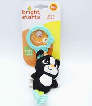 Bright Start Take & Shake Frog/Bird/Dog