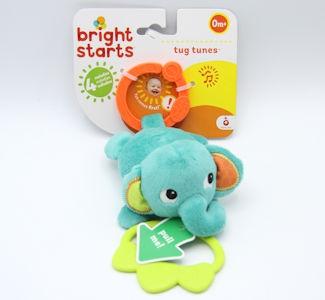 Bright Start Tug Tunes Elephant/Monkey