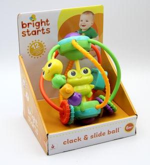 Bright Start Clack&Slide Activity Ball