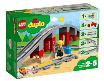 LEGO Duplo 10872 Train Bridge and Tracks