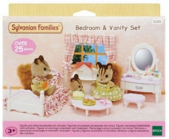 Sylvanian Families Bedroom and Vanity Set