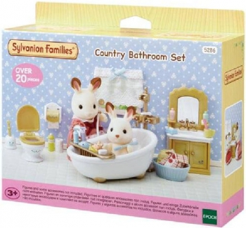Sylvanian Families Country Bathroom
