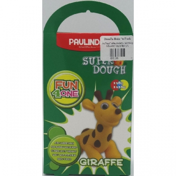 Paulinda Super Dough Fun 4 One Gift Pack Giraffe