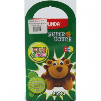 Paulinda Super Dough Fun 4 One Gift Pack Lion