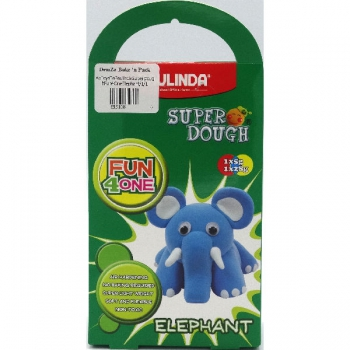Paulinda Super Dough Fun 4 One Gift Pack Elephant