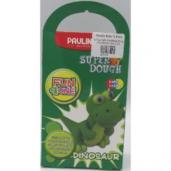 Paulinda Super Dough Fun 4 One Gift Pack Dinosaur