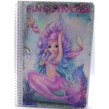 Top Model Fantasy Model Colouring Book Mermaid