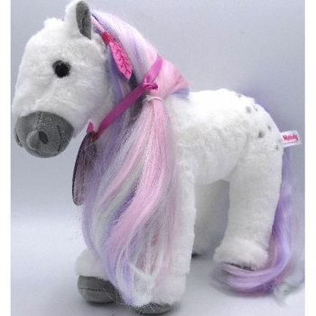 Top Model Plush Horse with Combing Mane 27cm