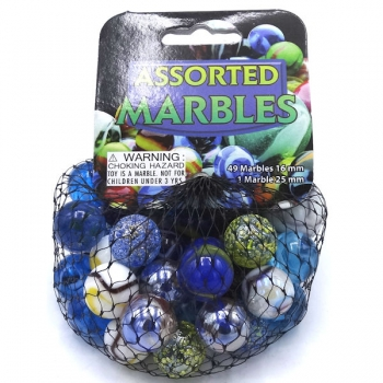 Marbles Assorted 49 Small 1 Large