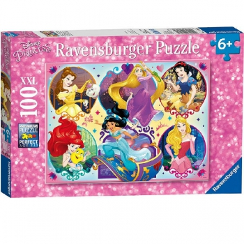 Ravensburger Puzzles 100Pce Disney Princess 2