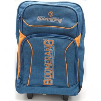 Boomerang School Bags Lrg Trolley Teal Melange