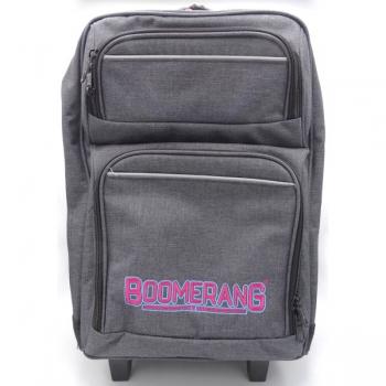 Boomerang School Bags Lrg Trolley Pink Melange