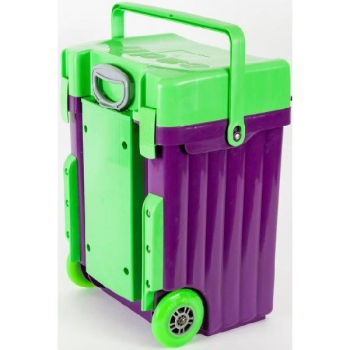Cadii School Bags Purple Green