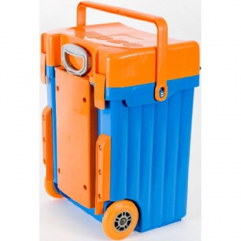 Cadii School Bags Blue Orange