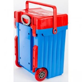 Cadii School Bags Blue Red