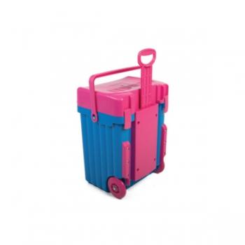 Cadii School Bags Blue Pink