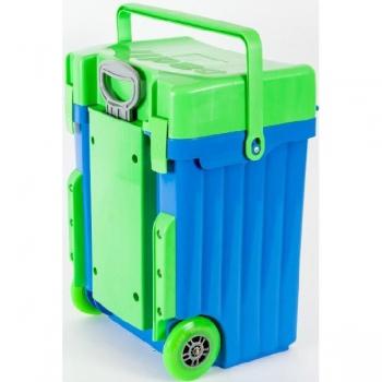 Cadii School Bags Blue Green