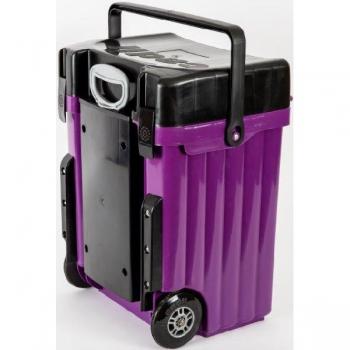 Cadii School Bags Purple Black