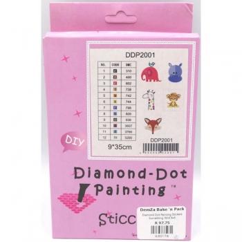 Diamond Dot Painting Stickers Something Wild 6x6