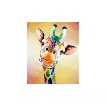 Diamond Dot Painting Funky Giraffe 25x30