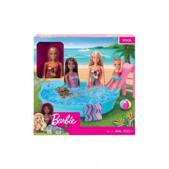 Barbie Pool with Doll (Black Hair)