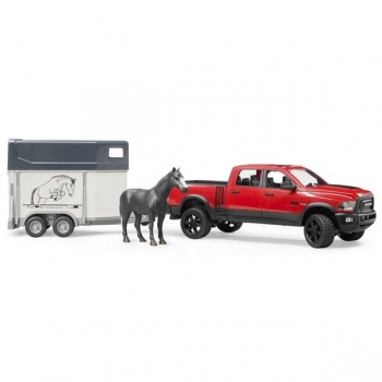Bruder RAM Power Wagon with Horse Trailer