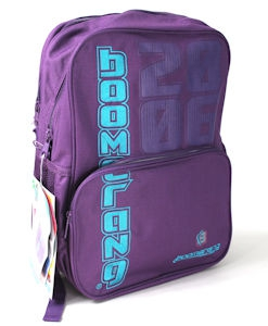 Boomerang School Bags Lrg Division Purple