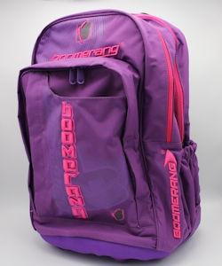 Boomerang Orthopedic School Bags Large Purple