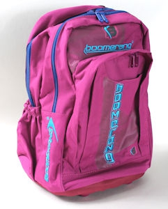 Boomerang Orthopedic School Bags Large Pink