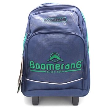 Boomerang School Bags Medium Trolley Navy