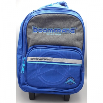 Boomerang School Bags Medium Trolley Royal