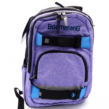 Boomerang Bags Lrg Backpack Purple