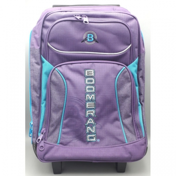 Boomerang School Bags Large Trolley Purple