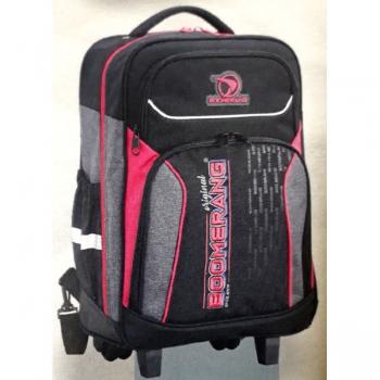 Boomerang School Bags Large Trolley Pink