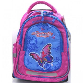 Boomerang Ortho School Bags Large Trolley Pink